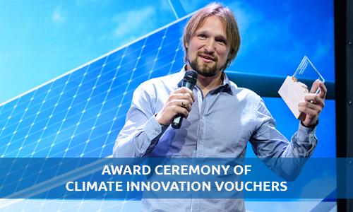 Award Ceremony of Climate Innovation Vouchers Program